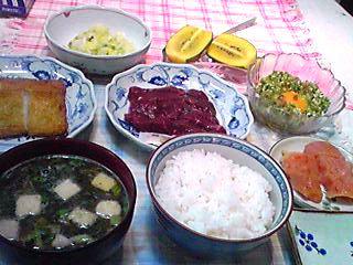 王子の朝食メニュー!
