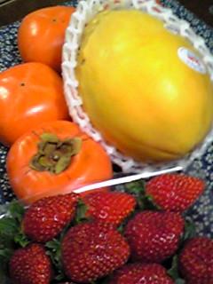 フルーツがいっぱい〜!