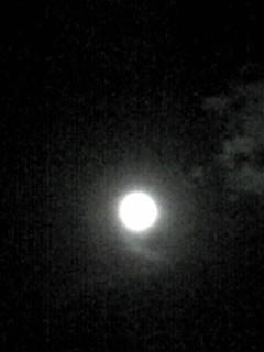 今宵の満月!