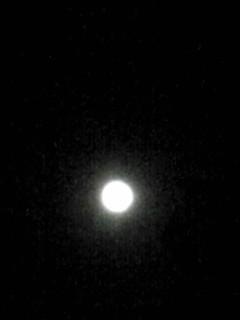 今宵のブルームーン(満月)ですよ〜!(^_-)-☆