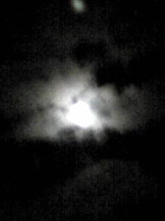 月が出ていたら今日は満月だから…