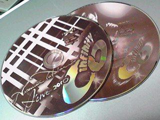 「infinity」ライブDVDの感想でも行ってみっかなぁ〜♪(これって直祭り?)