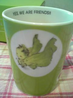 N.Y.SALADのマグカップ