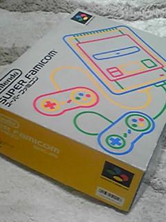 懐かしいゲーム機(スーパーファミコン)