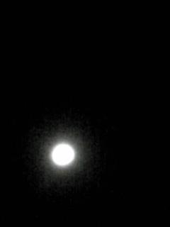 綺麗ですよ、今日のお月様