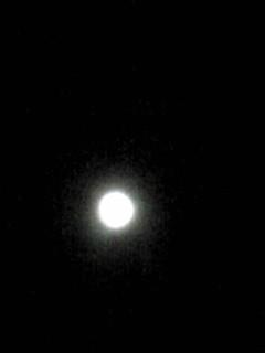 明日の今頃から月は欠けはじめます!