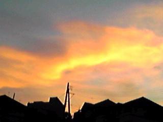 オレンジ色の夕焼けそして「オレンジレンジなブログ」