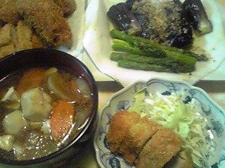 今夜の御飯で〜す!