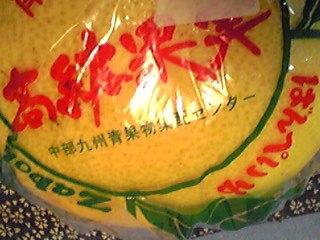 晩白柚(ばんぺいゆ)頂きました〜♪