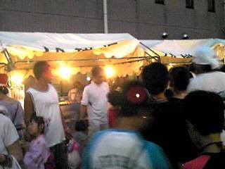 町内のお祭りに行ってきました〜♪