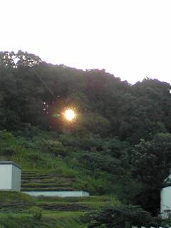 今朝は本格的な秋気温そして、日本晴れ〜♪