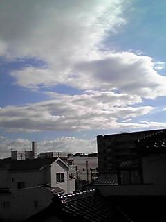 今日の空・東西南北