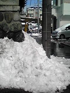 まだまだ雪国?