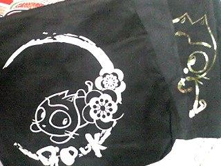 きたきた〜!「gouk×高橋直純コラボコレクション第三弾「すね太Tシャツ」と「トートバッグ」が〜♪