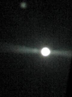 今夜は満月、そして月出帯食(げっしゅつたいしょく)が見られますよ!o(^-^)o