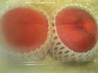 トウモロコシと桃