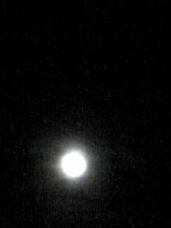 今日は今年一回目の13夜のお月様!そしてこんな夕焼けも♪