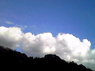 今日の空、東西南北