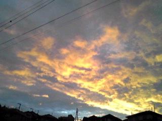 一日荒れたお天気も夕方には…ホッとした景色が!!