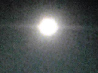 昨夜のフルムーン(満月)は今年最後の満月