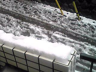 横浜は多い時で5センチの積雪…寒い〜!