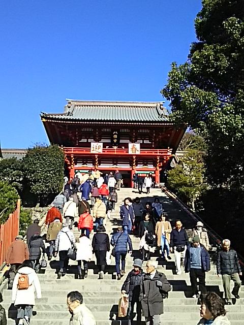 2017年初詣(鎌倉鶴岡八幡宮))