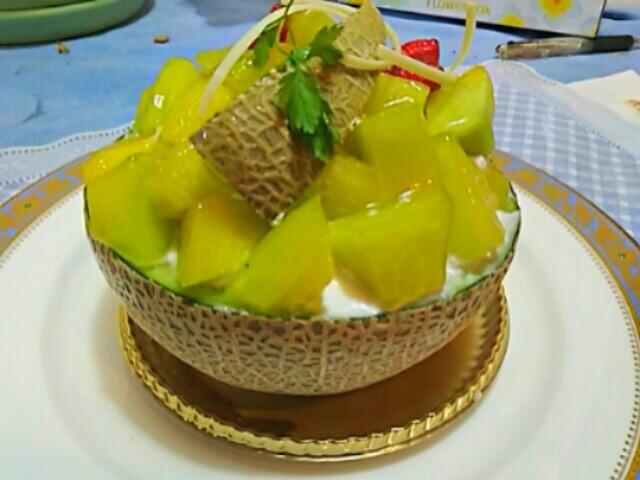 王様のお誕生日ディナーとバースデーケーキ♪♪♪