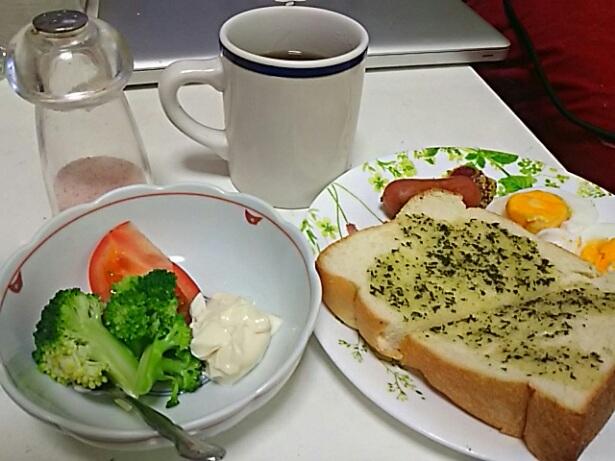 今日の朝食と夕飯をば‼