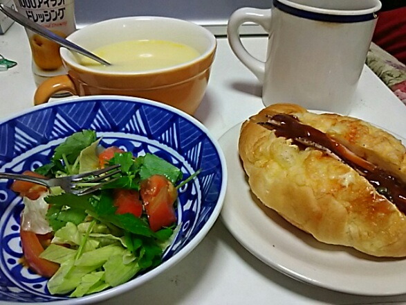 朝が寒くなってきたから朝食に暖かい物を!